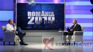 Traian Basescu si Cozmin Gusa. Foto Cristian Otopeanu