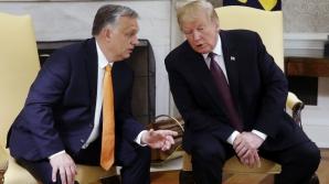 Viktor Orban, la Casa Albă, alături de Trump