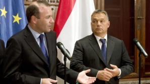 Europarlamentare 2019. Manfred Weber si Viktor Orban