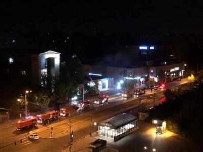 Incendiu la Medlife Titan, in Bucuresti. Pompierii au intervenit cu patru autospeciale