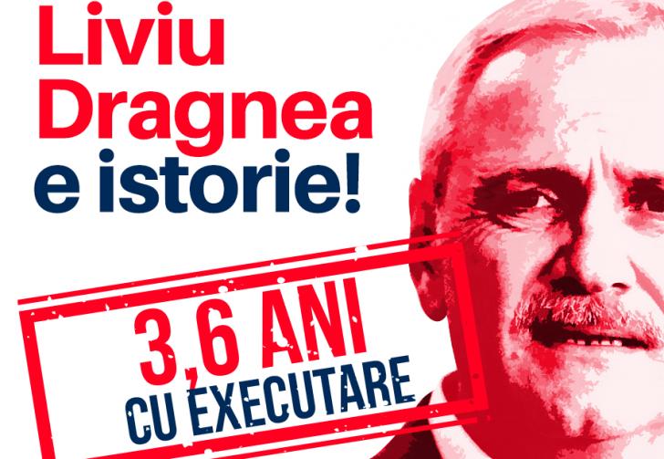 Anunț dramatic al USR după condamnarea lui Liviu Dragnea