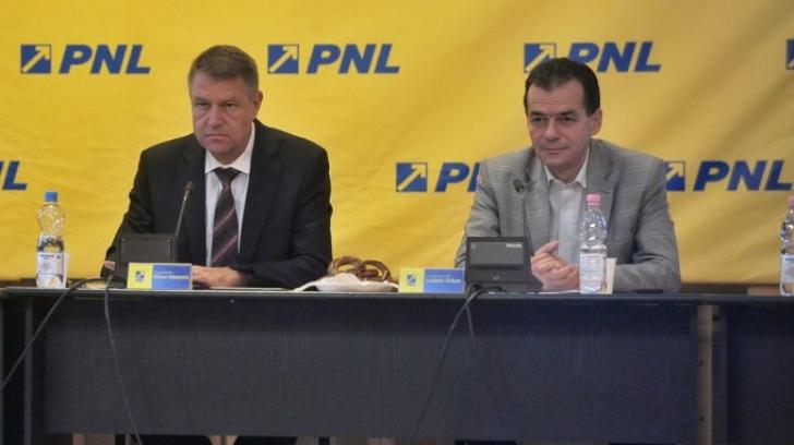 Miting PNL în Piaţa Victoriei: Participă şi preşedintele Klaus Iohannis