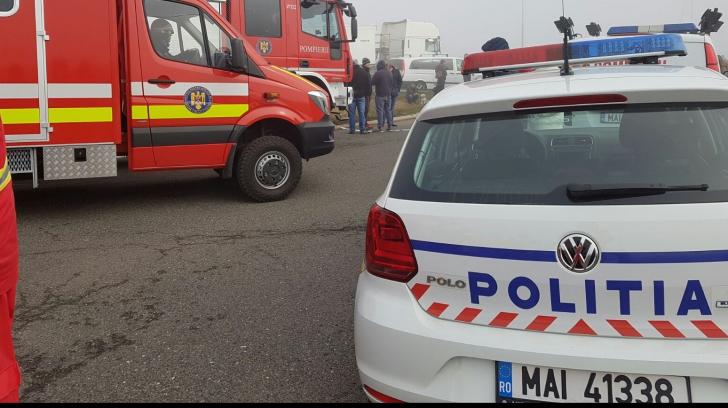 Accident în Bistrița