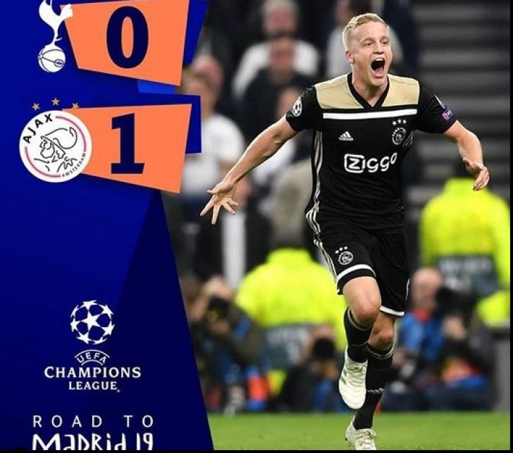 Ajax Amsterdam spre finala UCL 2019