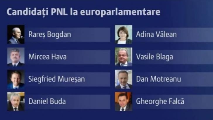 candidati pnl alegeri europarlamentare 2019