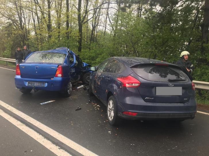 Accident mortal, la Cluj. Impact devastator între două maşini