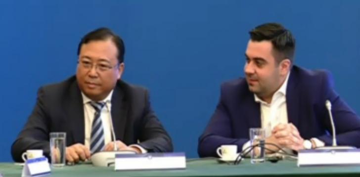 Chinezii, congerinta de presa comună cu Răzvan Cuc și Ion Ghizdeanu la Guvern