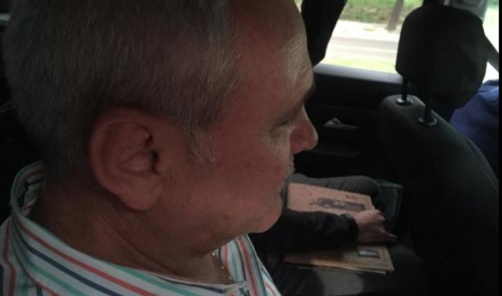 Liviu Dragnea, în mașina poliției
