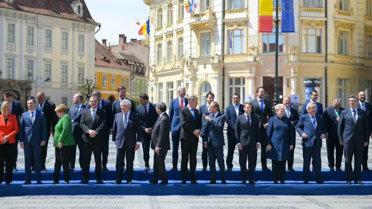 Europarlamentare 2019. Liderii nu s-au înțeles la Sibiu pe tema viitorul șef al Comisiei UE