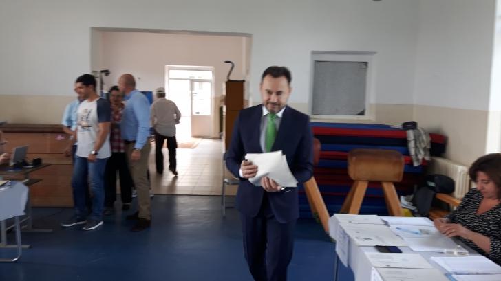 Gheorghe Falcă, după vot: Trebuie să ne amintim de protestele din stradă