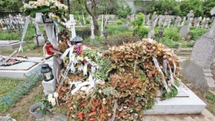 Cum arată acum mormântul lui Răzvan Ciobanu