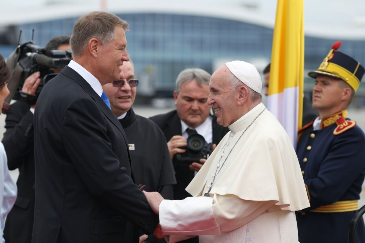 <p>Papa Francisc în România</p>
