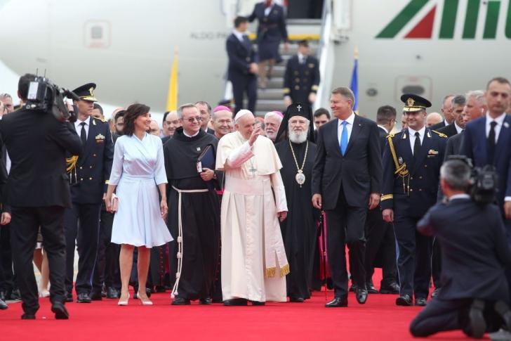 Papa Francisc în România