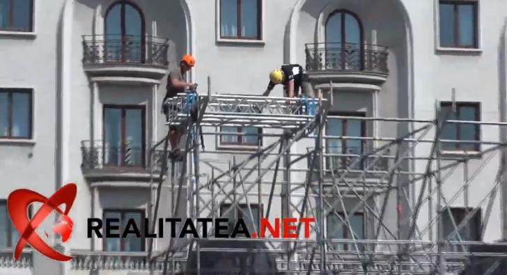 Pregatiri pentru vizita Papei Francisc la Bucuresti. Foto + video: Cristian Otopeanu