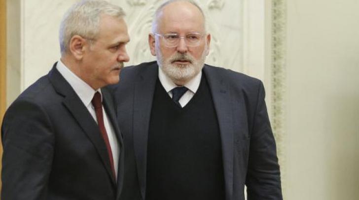 Timmermans, necruțător la adresa României