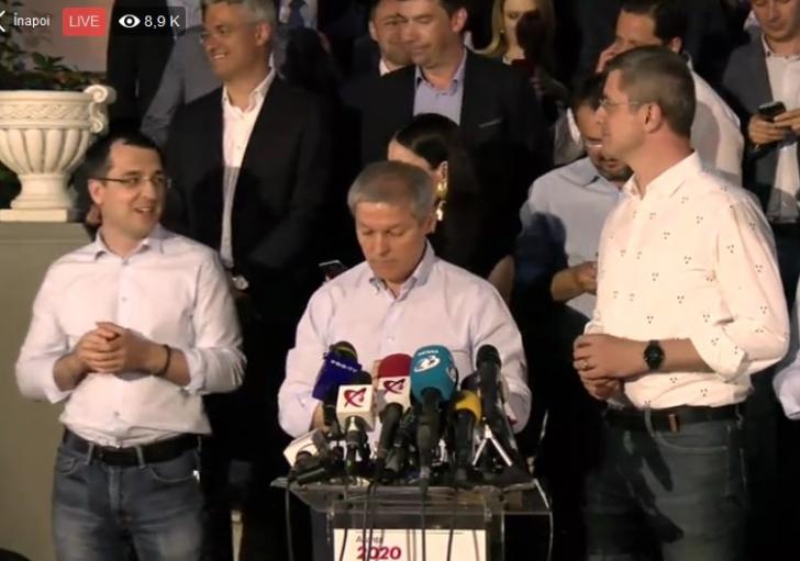 Dacian Cioloș și Dan Barna