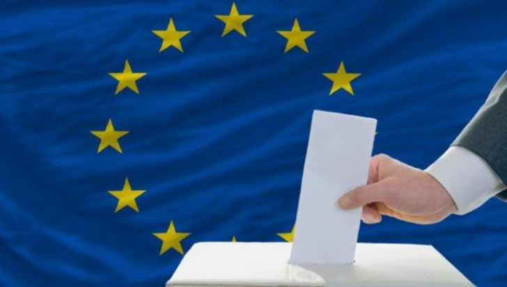 Rezultate parțiale europarlamentare 2019. Date oficiale oferite de BEC: 1. PNL, 2. PSD, 3. USR