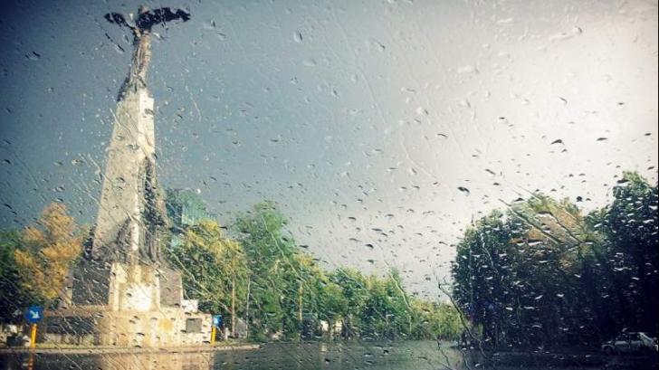 Vreme rea în București