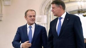 Iohannis, șef al Consiliului European