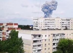 Explozie în Rusia
