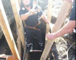 Muncitori sub pământ
