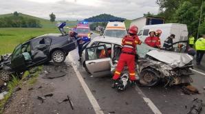Accident groaznic la Coldea