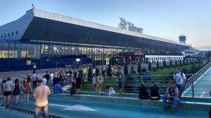 Alertă cu bombă pe aeroportul din Chișinău. Terminalul VIP, evacuat