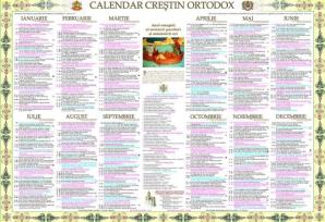 Calendar ortodox iunie 2019 - sarbatori