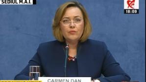 Carmen Dan, conferință de presă 10 iunie 2019