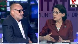 Ecaterina Andronescu, la Realitatea TV, înainte de Congresul PSD