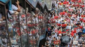 Protestele au avut ecou în Hong Kong