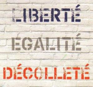 Când franțuzoaicele își postează decolteele pe rețelele sociale