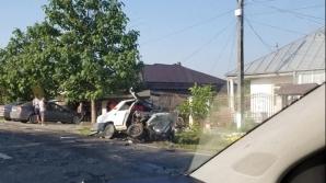 Accident Galati provocat de un politist
