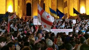 Proteste la Tbilisi împotriva vizitei unui deputat rus