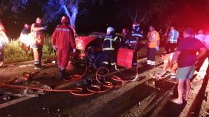 Accident înfiorător, la Tulcea: un mort și doi răniți