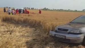 Accident grav, în Constanța. Mașini aruncate în câmp: 4 victime