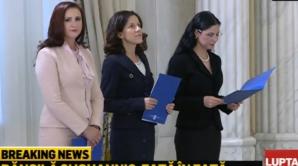 Noi ministri în Guvernul Dancila