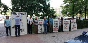 Protest la sediul Parchetului General