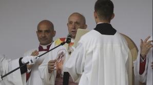Papa Francisc, la Sumuleu-Ciuc