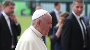 Vesmantul Papei Francisc, modificat