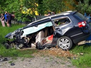 Accident la Valea Seacă