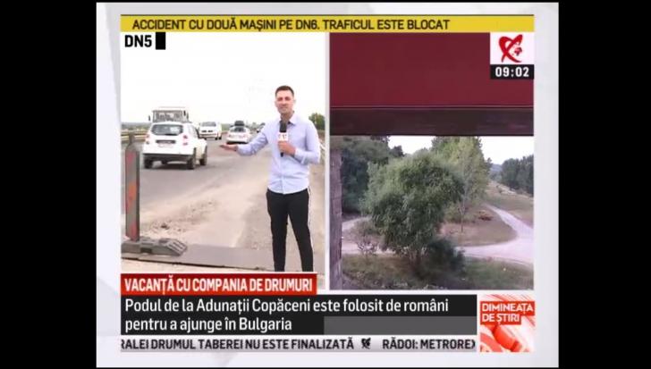 """Compania de Drumuri strică vacanțele românilor: """"Vedeți cum se zguduie imaginea!"""""""
