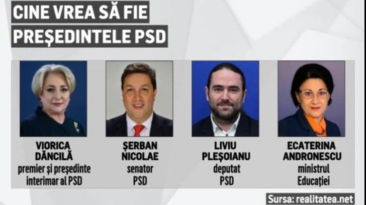 Cine vrea sefia PSD