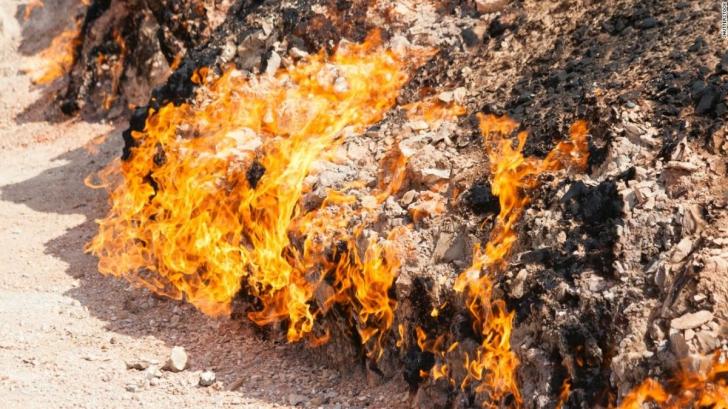 De ce focul etern din Azerbaijan arde de 4.000 de ani