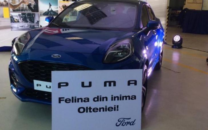 """Ford Puma, noul SUV produs la Craiova. Cum arată """"felina din inima Olteniei"""""""