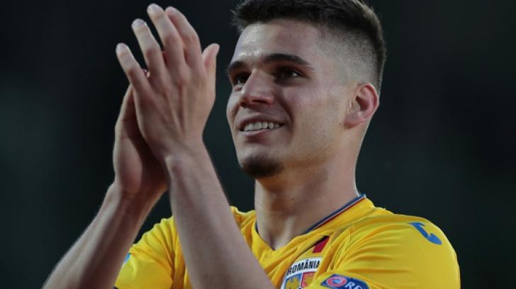 Romania - Anglia la EURO U21. Ianis Hagi, anunţ de ultimă oră