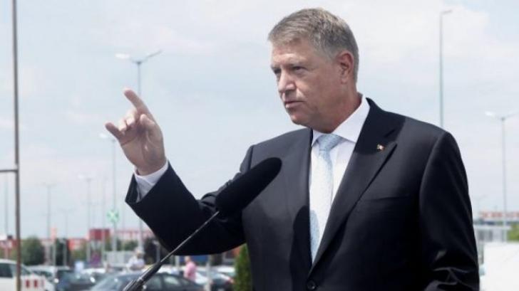Președintele Iohannis atrage atenția asupra lipsei infrastructurii de transport