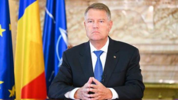 Mesajul preşedintelui Iohannis pentru familia poliţistului decedat în judeţul Timiş