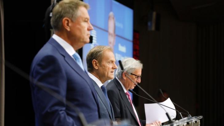 Klaus Iohannis la Consiliul European