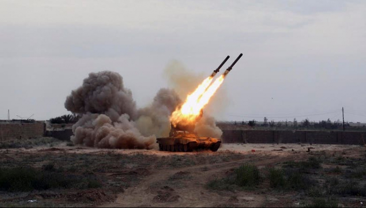 Rachete lansate asupra Israelului
